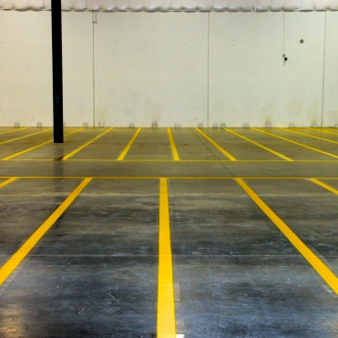 allen Hall and Sons, pavement marking, parking lots, warehouse, safety lines